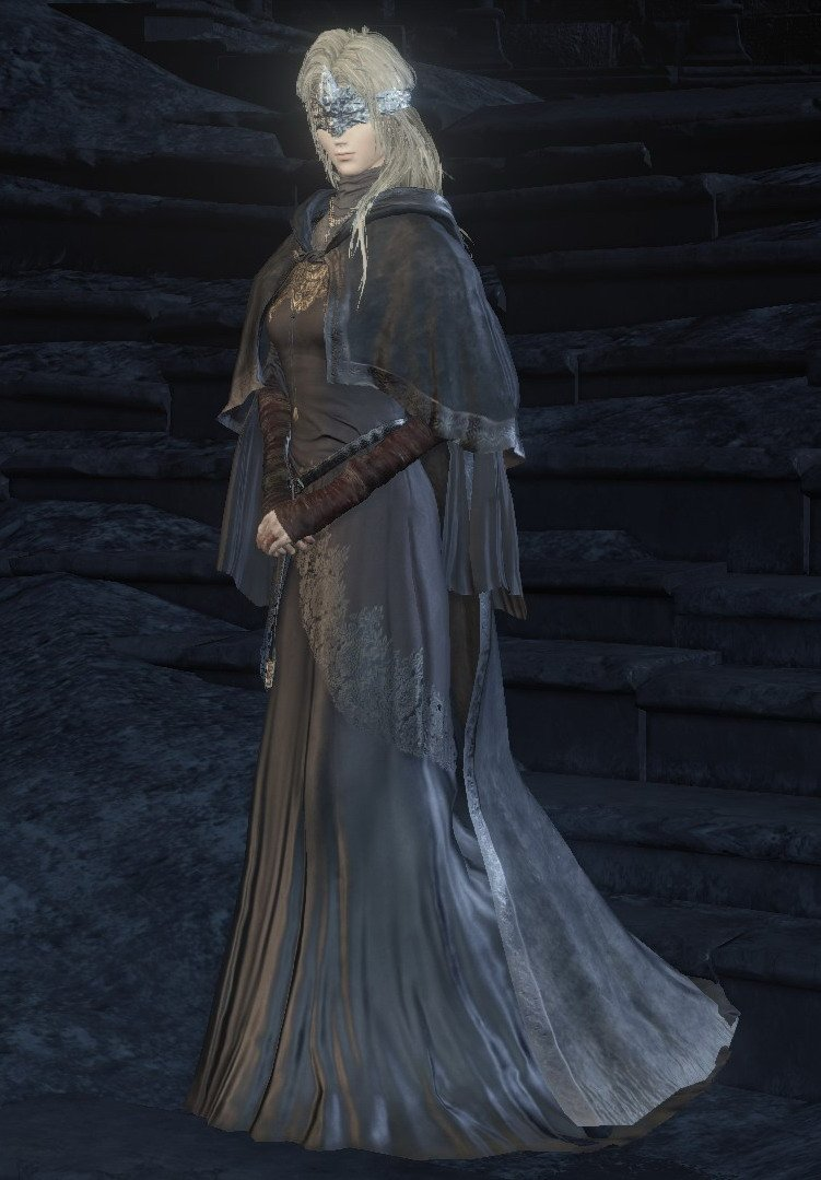 cosplay Dark keeper souls fire 3