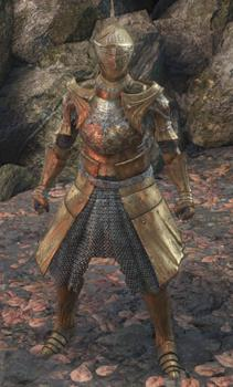 Brass Armor Set