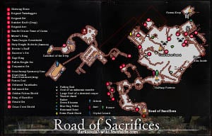 Road of Sacrifices Map